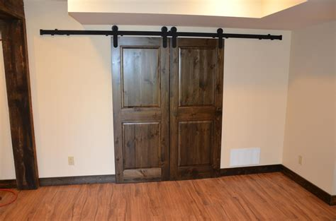 Barn Door Track Systems Barn Door Track System Mikron Woodworking Machinery Inc