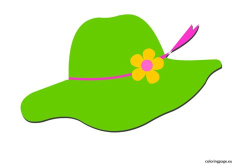 beach hat coloring page sun hat coloring page beach hat coloring page in coloring
