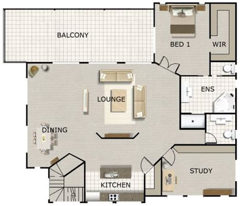 game room floor plans ideas games room study 3 living areas kit home designs