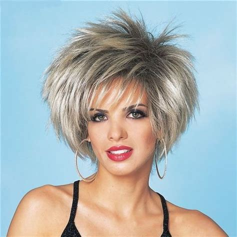 short spiked bobs asymmetrical short haircuts for women spiky bob