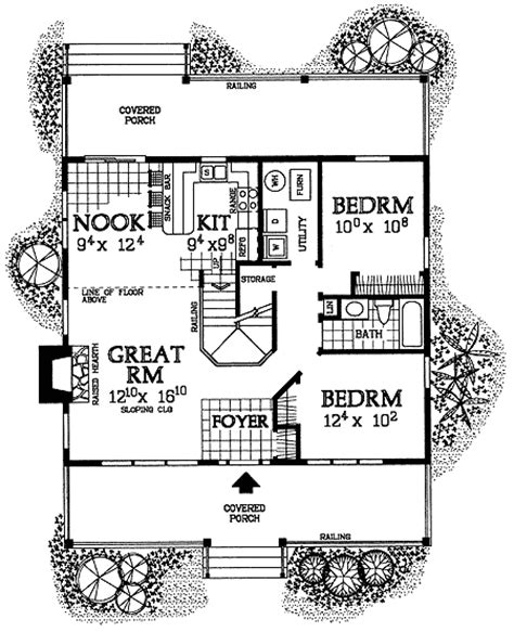 cabin designs and floor plans rustic cabin retreat 81339w architectural designs house plans