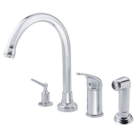 single faucet kitchen delta classic single handle standard kitchen faucet in chrome 100 bh dst the home depot