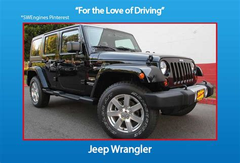 Rebuilt Jeep Engines Used Jeep Wrangler Engines For Sale Swengines