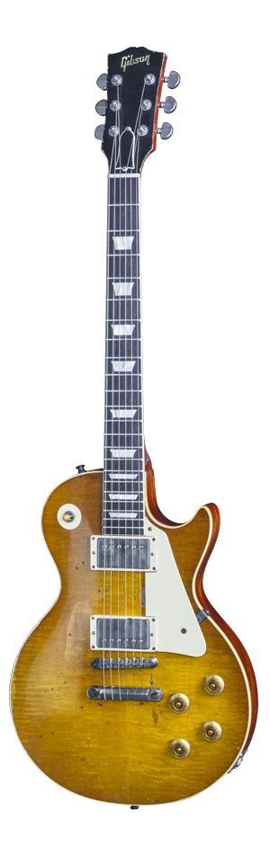 Jam Tangan Custom Gibson Les Paul mike mccready 1959 les paul standard aged vos