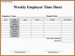 Employee Timesheet Templates by Doc 585600 Employee Timesheet 13 Employee Timesheet