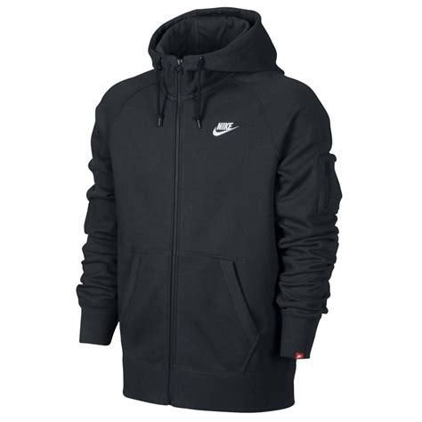 ebay zips nike aw77 fleece full zip hoody herren sweater