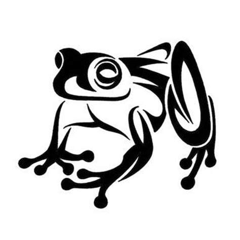 frog tribal tattoos 10 beautiful tribal frog tattoos only tribal