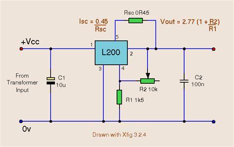 calcolatore alimentatore pc l200 power supply power supply circuit circuit diagram