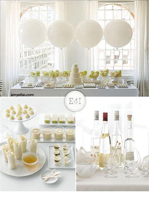 white  yummy wedding inspiration engagement party