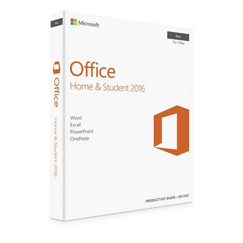 microsoft office for mac home student 2016 apple