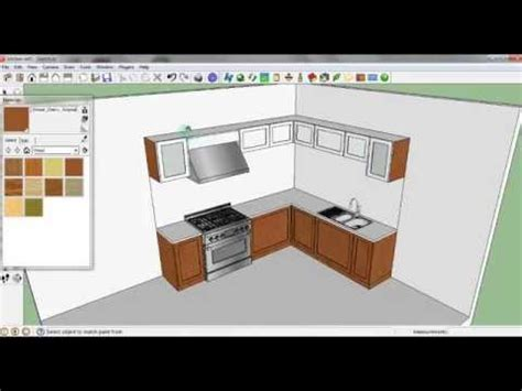 membuat kitchen set sendiri youtube sketch up tutorial membuat kitchen set youtube