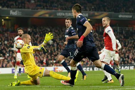 arsenal 0 red star belgrade 0 gunners reach europa league arsenal 0 red star belgrade 0 match report jack wilshere