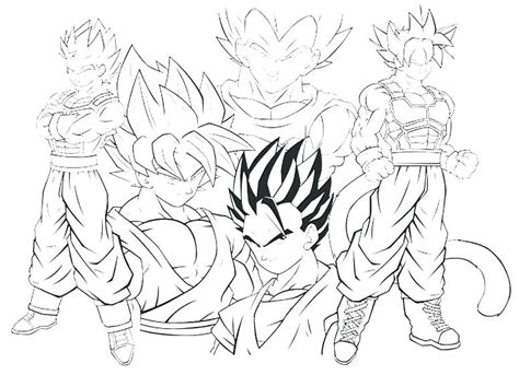 goku coloring pages games goku coloring page dragon ball z coloring pages super 5