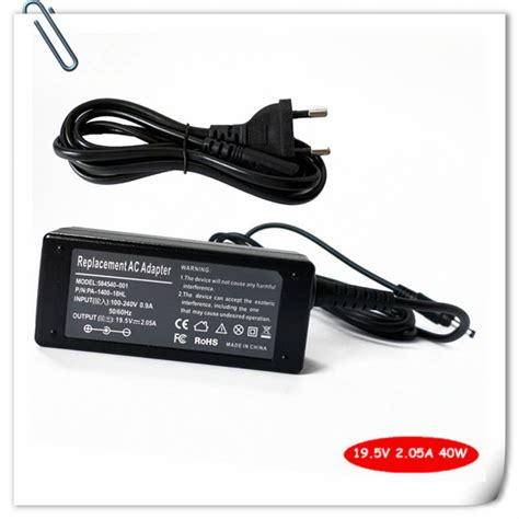 Adaptor Laptop Hp 1000 laptop battery charger ac adapter for hp mini 1000 110 210 210 1000 210 2000 210 3000 580402