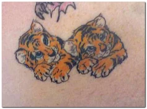 baby tiger tattoo 57 baby tiger tattoos ideas