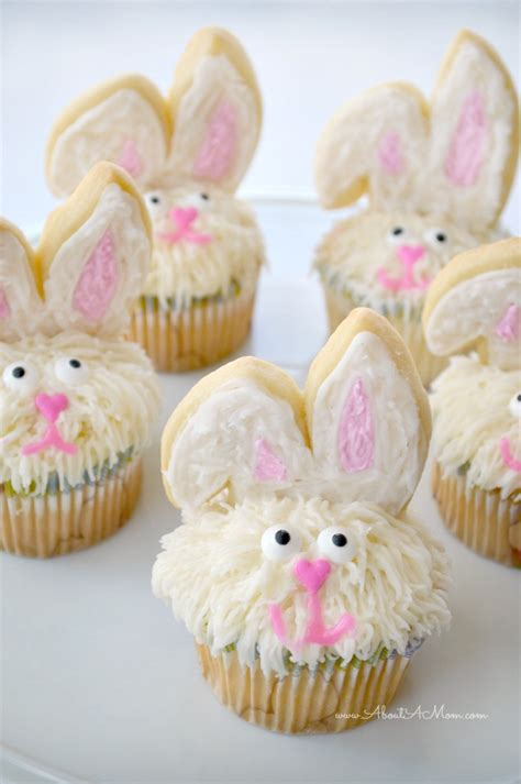 easter bunny cupcakes made easy about a