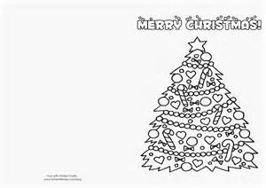 Christmas Card Templates For Children To Make Christmas Cards For Kids To Color Coloring Home