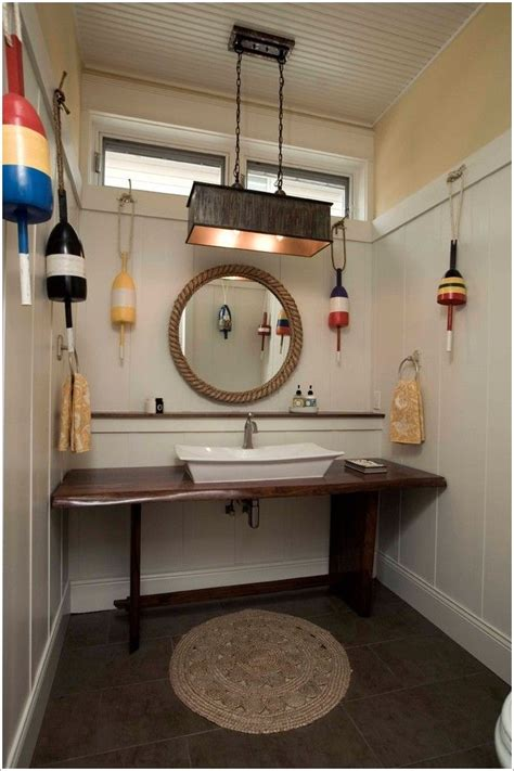 bahtroom nautical bathroom mirrors above white sink color