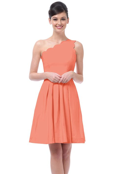 Coral Bridesmaid Dress by Bridesmaid Dresses In Coral Fashjourney