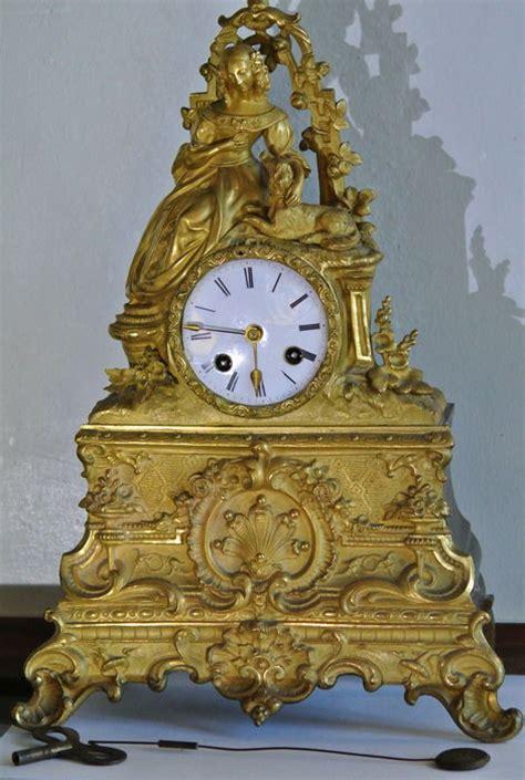 orologi da camino antichi antico orologio da camino in bronzo parigi 1830 catawiki