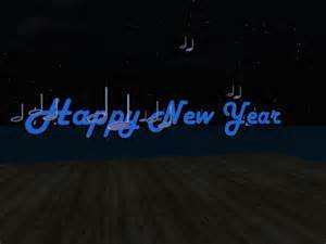 second life marketplace happy new year with music notes