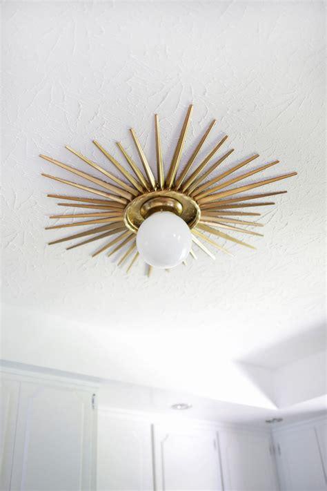 Sunburst Mirror Medallion DIY   A Beautiful Mess