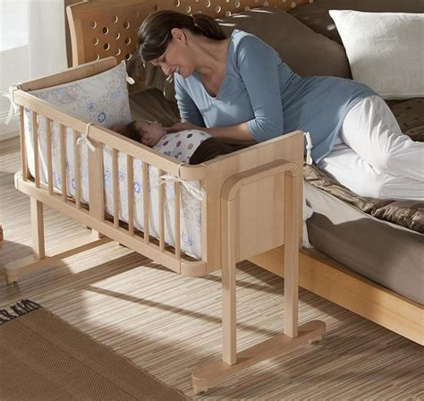 cribs that attach to side of bed geuther aladin bedside sleeper crib baby accessories