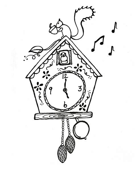 printable clock coloring pages coloring me