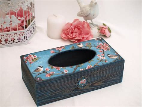 Decoupage Tissue Box - 365 best images about decoupage tissue boxes on