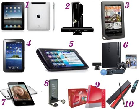 electronic gadgets top  holiday gifts  tech lovers