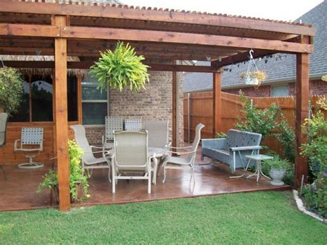 ideas for back patio cheap backyard patio designs architectural design