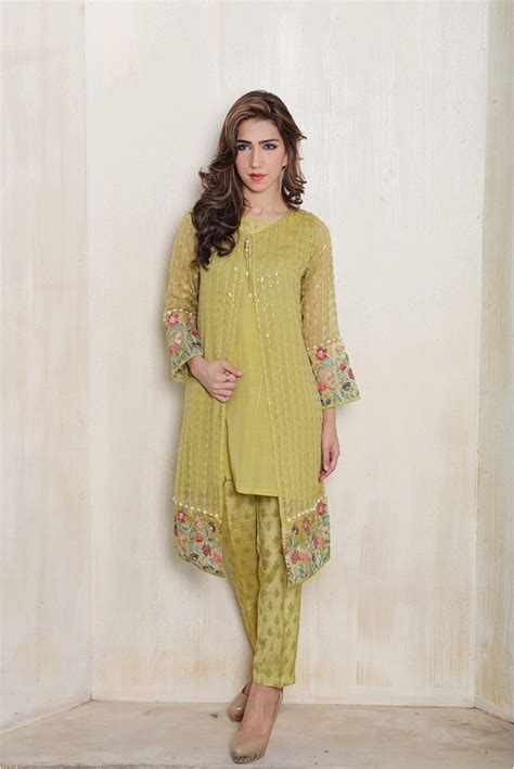 jacket design in pakistan maria b new fancy eid collection 2017 for women and kids