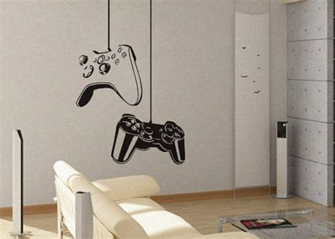 Gaming Decor by Seaside Interiors Boys Gamer Themed Bedroom In Shades Of