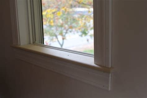 Interior Window Sill How To Install An Interior Window Sill A Concord Carpenter