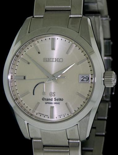 Grand Seiko Sbga083 drive all steel sbga083 grand seiko drive