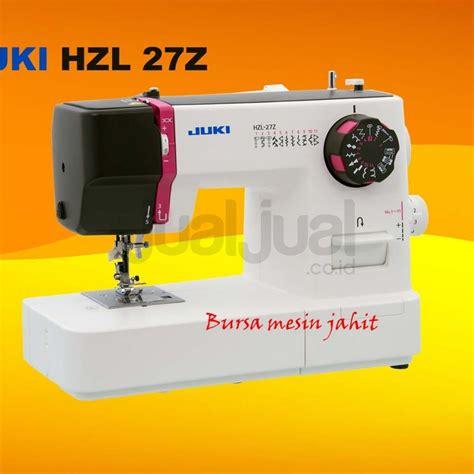 Mesin Jahit Juki Hzl 27z juki hzl 27z new di bursa mesin jahit rumah tangga jualjual