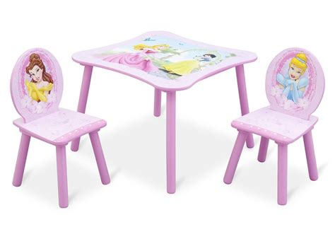 delta disney princess table and chair set princess table chair set delta children s products