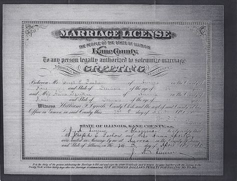 Marriage Records Il Joliet Genealogy Illinois Marriage Certificates 1860 1917