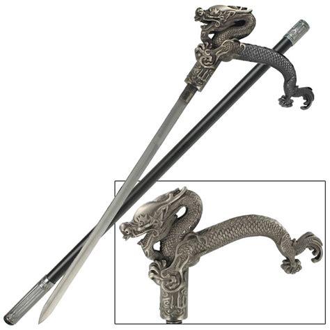 sword walking canes dragonlord walking sword
