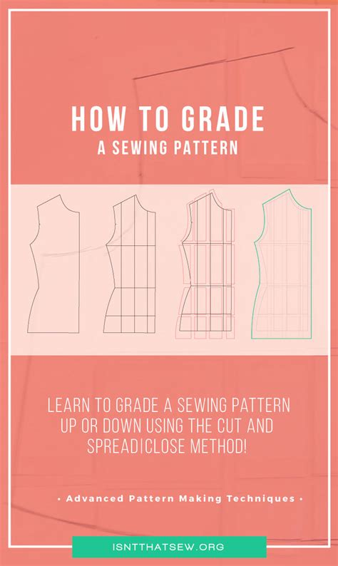 youtube pattern grading grading a sewing pattern