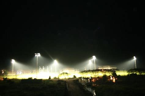 Led Flood Light Your Tour To Tezpur University Volleyball Ground In Flood