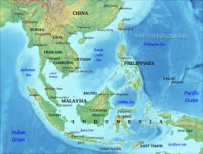 South East Asia Physical Map by Pics Photos Physical Maps Of Southeast Asia Physical Maps