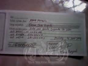 contoh kwitansi pembayaran kumpulan gambartop
