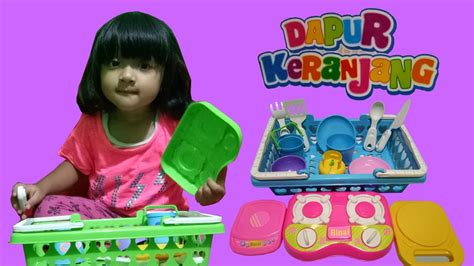 Keranjang Mainan kitchen set cooking playset mainan masak masakan