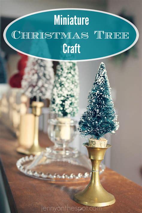 miniature christmas tree jenny on the spot
