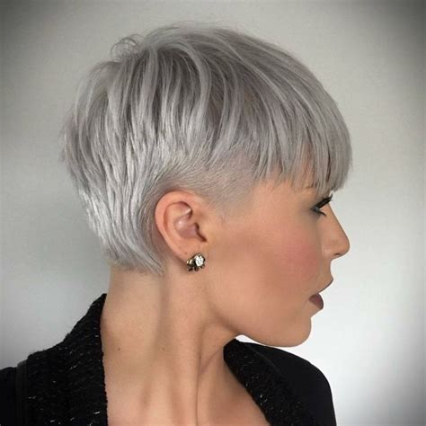 fine graycoming in of short bob hairstyles for 70 yr old 17 best ideas about short gray hair on pinterest short