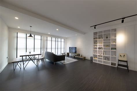 home design blog singapore house tour 70 000 renovation cost for this all white hdb