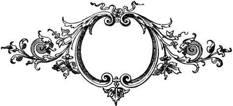 ornaments frames baroque printers ornaments frame the graphics