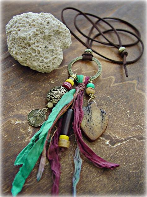 how to make hippie jewelry boho hippie necklace boho jewelry boho by