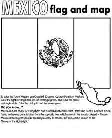 mexico flag coloring page free printable coloring page flag mexico countries others